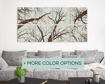 Extra Large Wall Art - Rustic Nursery Theme - Nursery Forest Print - Forest Print Nursery - Forest Art Nursery - Rustic Nursery - Forest Art