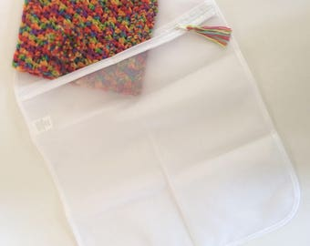 Laundry Bag for Knit or Crochet Items