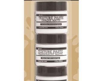 Ranger Texture Paste 3 Pack