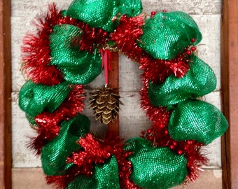 Color Me Christmas Wreath