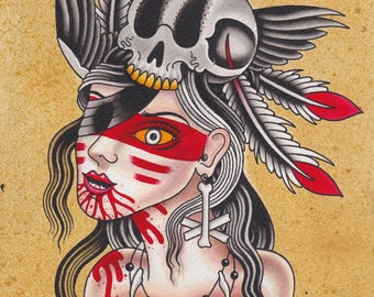Witch Doctor - Ashley Riot print 2014