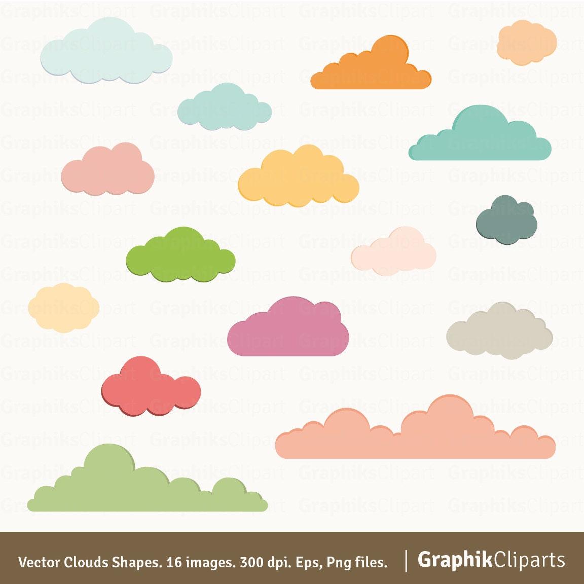 Vector clouds shapes clouds clipart vector clouds baby zoom stopboris Choice Image