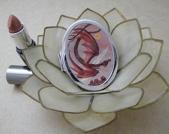 Garnet Dragon, Compact Magic Art Mirror
