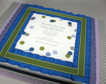 Bar/ Bat Mitzvah - Special Birthday Keepsake Box