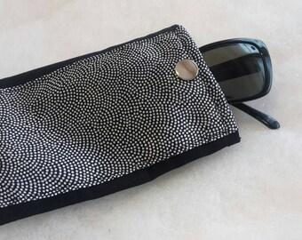Glassescase or smartphone case Japanese chirimensilk Phone case handmade japanese fabric sunglasses case