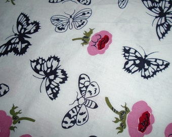 True Vintage Cotton Fabric, 3/4 yard piece and 36 inches wide