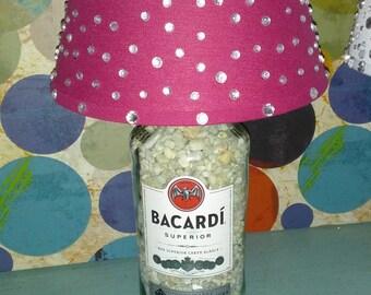 Bacardi Liquor Lamp