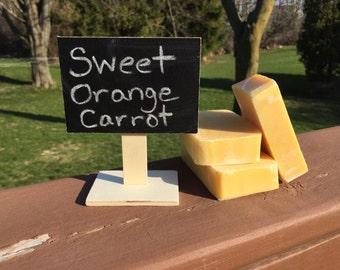 Sweet Orange Carrot Soap