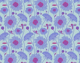 Sweet Dreams by Anna Maria Horner for Free Spirit - Lacey - Periwinkle - 1/2 yard Cotton Quilt Fabric