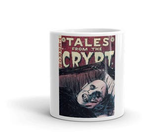 Mr Barlow Salem's Lot Tales From The Crypt Horror Movie Comic Book Mash Up Mug