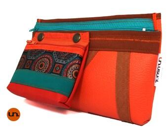 Mutant, Limited Edition, Mandala, Handmade Personalized Waist Bag, Vegan Friendly, Vegan Leather Hip Bag, Festival Bag, Bum Bag, UNUSUAL