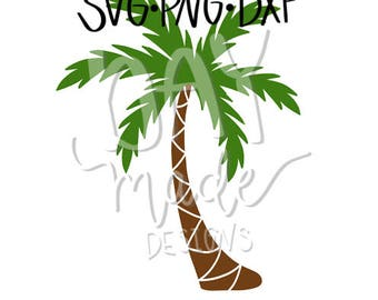 Palm Tree SVG, Palm Tree Cut File