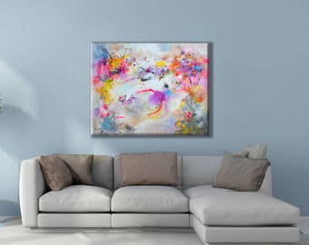 Large Painting on Canvas, Modern Art Abstract Painting, Original Abstract Acrylic Painting, Wall Art on Canvas, abstract art canvas acrylic