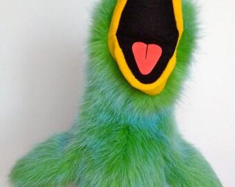 Bird Puppet - Green