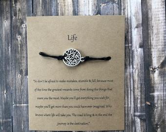 Tree of Life Wish Bracelet