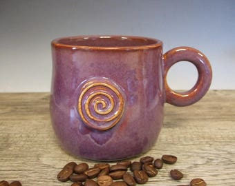 Purple Mug with Infinity Circle by misunrie