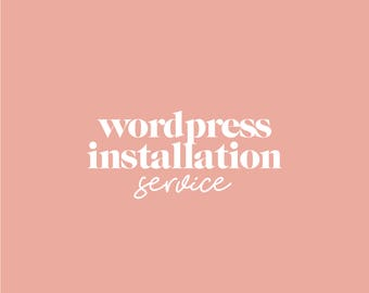 Wordpress Installation | WordPress Add-On