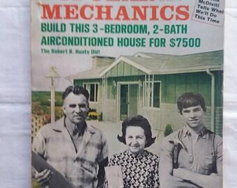 November 1969 Popular Mechanics magazine-Great Vintage Read for Anyone of Any Age!