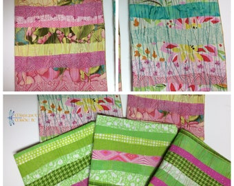 Refillable Composition Book Cover - Lily Pulitzer inspired colors