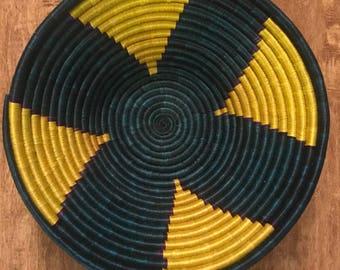 Cool handmade Rwandese Peace basket