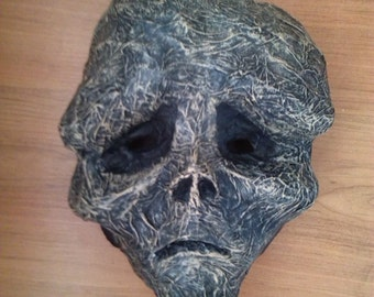 Mask of Living Death | Paper Mache Mask | Costume