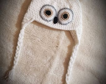 Adorable Owl Hat - One Size Fits Most Ages 6-Adult