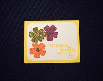 Thank You Greeting Card - Thanks Kindly
