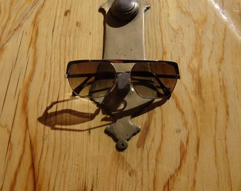 Vintage sunglasses frame with new optician glasses
