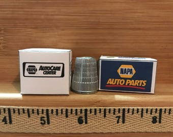 G-11 -  Miniature auto parts boxes  set of 2