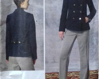 UNCUT Vogue 1467 Misses Jacket & Pants