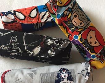 DC Marvel  Comic fabric,Eco bag with matching coin purse ,Foldable grocery bag,Eco friendly market bag,Reusable market bag.