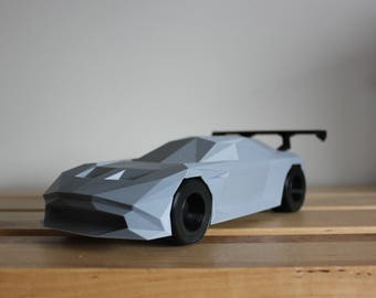 Low Poly 2015 British Hypercar