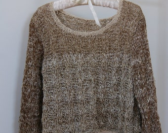 natural sweater made in France