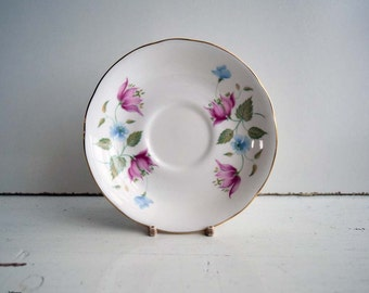 Vintage Queen Anne Made in England Bone China Saucer