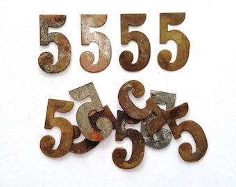 Vintage table number etsy one antique five number 5 authentic shabby brass number five room number table number 6a9gak8 urtaz Gallery