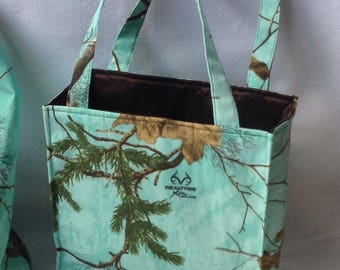Camo Realtree Tote Bag