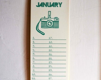 Illustrated Birthday Calendar