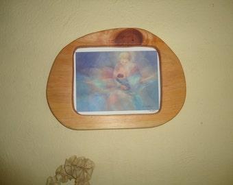 Handmade wooden frame for horizontal print / Waldorf wooden frames / Wiwiurka