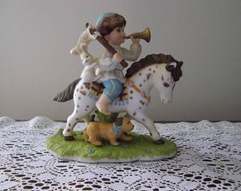 """The Gift of Love Collection by Schmid, """"Little Francis""""  Collectible, 1993"""