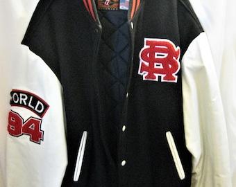 Rolling Stones 1994 World Tour Varsity Jacket Size XL