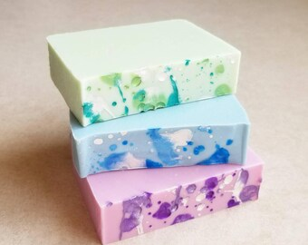 Mood Soap Cold Processed Handmade Silk Soap