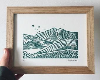 Snowy Peaks - Limited Edition Print