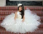 Ivory Dress Lace Dress Sa...