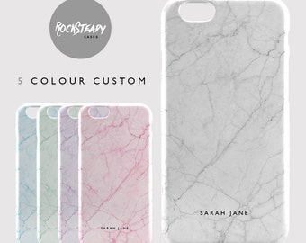 personalised marble iphone 8 case