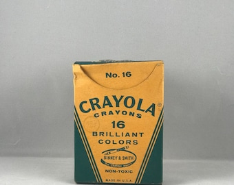 Vintage Crayola Box No.16