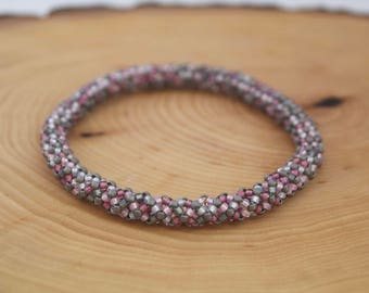 Pink Slate Maggie Bracelet