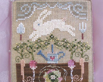 INSTANT DOWNLOAD Cross Stitch Chart for Brooke's Books Bride's Tree ornament: 4 of 12 Hope