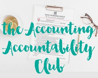 Accounting Accountability Club - bookkeeping support for online biz owners
