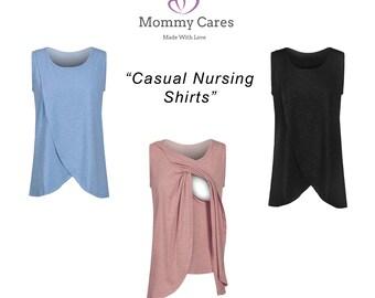 Nursing Top, Breastfeeding Top