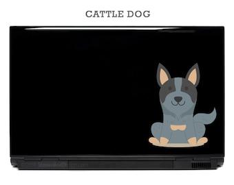 Cattle Dog Koolie Dingo Tenterfield Your Choice Vinyl Decal | australian dog stickers laptop decal australia macbook yeti tablet vinyl decal